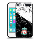 LIVERPOOL FC LFC 2017/18 MARBLE BLACK SOFT GEL CASE FOR APPLE iPOD TOUCH