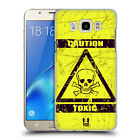 HEAD CASE DESIGNS HAZARD SYMBOLS HARD BACK CASE FOR SAMSUNG PHONES 3