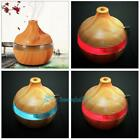 300ml Ultrasonic Humidifier Wood Grain LED Essential Oil Dif
