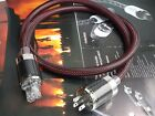 HiFi OCC Copper US Power Cable Carbon Plug IEC Rhodium