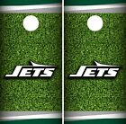 New York Jets Field Cornhole Wrap NFL Game Board Skin Set Vinyl Decal CO97 on eBay