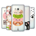 HEAD CASE DESIGNS KAWAII ANIMAL DONUTS SOFT GEL CASE FOR HTC PHONES 1