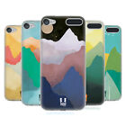HEAD CASE DESIGNS COLOURFUL MOUNTAINS SOFT GEL CASE FOR APPLE iPOD TOUCH MP3