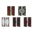 HEAD CASE DESIGNS FLORAL ART DECO LEATHER BOOK WALLET CASE FOR SAMSUNG PHONES 1
