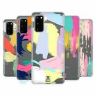 HEAD CASE DESIGNS ABSTRACT STROKES SOFT GEL CASE FOR SAMSUNG PHONES 1