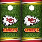 Kansas City Chiefs Field Cornhole Wrap NFL Game Skin Board Set Vinyl CO128 on eBay