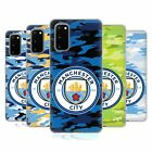 OFFICIAL MANCHESTER CITY MAN CITY FC BADGE CAMOU GEL CASE FOR SAMSUNG PHONES 1