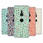 HEAD CASE DESIGNS VINTAGE DITSY FLOWERS SOFT GEL CASE FOR SONY PHONES 1