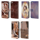 OFFICIAL SELINA FENECH ANGELS LEATHER BOOK WALLET CASE FOR APPLE iPOD TOUCH MP3