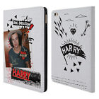 OFFICIAL ONE DIRECTION 1D MIDNIGHT HARRY LEATHER BOOK WALLET CASE FOR APPLE iPAD