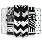 HEAD CASE DESIGNS BLACK AND WHITE DOODLE PATTERNS BACK CASE FOR SONY PHONES 1