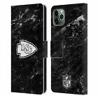 NFL 2017/18 KANSAS CITY CHIEFS LEATHER BOOK WALLET CASE FOR APPLE iPHONE PHONES