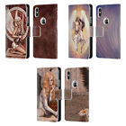 OFFICIAL SELINA FENECH ANGELS LEATHER BOOK WALLET CASE FOR APPLE iPHONE PHONES