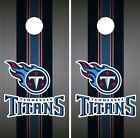 Tennessee Titans Cornhole Wrap NFL Team Flag Skin Game Board Set Vinyl Art CO148 on eBay