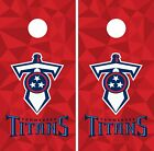 Tennessee Titans Cornhole Wrap NFL Skin Game Board Set Vinyl Art Decor CO149 on eBay