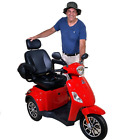 Eagle One, 3 Wheel Recreational Mobility Scooter, Heavy Duty, 15mph,