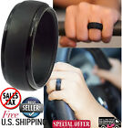 Silicone Wedding Band Ring Men Flexible Hypoallergenic Active Lifestyle Rubber