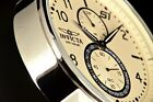 Invicta S1 Rally Ivory White 48mm Dial Multifunction Tachymeter SS Bracelet Watc