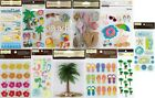 U CHOOSE Recollections Stickers SAND CASTLE - BEACH - MERMAID - PALM TREE & MORE