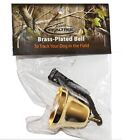 RealTree Grouse Hunting Brass Plated Bell Bells Medium Tone Bird Dog Training