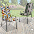 Sun Lounger Chair Cushion Padded Reclining Seat Pad Thick Comfortable Universal