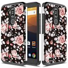 For ZTE Max XL / Max Blue / Blade Max 3 Case, Shockproof Case + Screen Protector