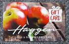 $25 HAGGEN FOOD & PHARMACY GIFTCARD!! FREE SHIPPING!!