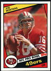 1984 Topps Football - Pick A Player - Cards 201-396