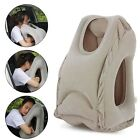 Inflatable Travel Pillow, Ergonomic Portable Head Neck Rest Sleep Soft Pillow