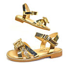 NEW Baby & Toddler Pageant Dress Sandals GOLD