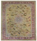 Tremendous Tetex - 1930s Antique German Rug - Large Hunting Scene 11.6 x 17.2 ft