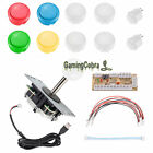 For Sanwa Joystick + 8 OBSF-30 Push Buttons Arcade Games Mame Jamma Replair Kits