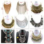 Fashion Charm Jewelry Stone Crystal Choker Chunky Statement Necklace 3