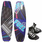 Fuel Feelgood Wakeboard Package 135 avec Unite Wakeboardbindung