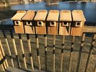 "Cedar Bluebird Bird House  3/4"" THICK Cedar Birdhouse! FREE SHIP Predator Guard"