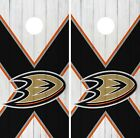 Anaheim Ducks Cornhole Wrap NHL Wood Game Board Skin Set Vinyl Decal CO173 $59.95 USD on eBay