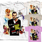 James Bond: From Russia with Love V2, movie, T-Shirt (WHITE) All sizes S to 5XL $23.88 CAD on eBay