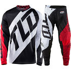 NEW TROY LEE DESIGNS GP QUEST GEAR COMBO BLACK/WHITE/RED SIZE 38/XXL