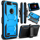 LG Stylo 3 case, Rugged Armor Back Cover in Kickstand for LG Stylo 3 Plus/LS777