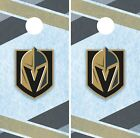 Vegas Golden Knights Cornhole Wrap NHL Game Board Skin Set Vinyl Decal Art CO218 $39.95 USD on eBay