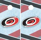 Carolina Hurricanes Cornhole Wrap NHL Game Board Skin Set Vinyl Decal CO224 $39.95 USD on eBay