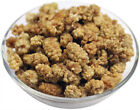 Organic Whole White Mulberries (Soil Association Certified) 2 Sizes & FREE P & P