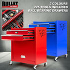 BULLET 881 Piece Metric Tool Kit Cabinet Trolley Mechanic Steel Toolbox Set