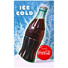 Coca-Cola Bottle Ice Cold Wall Decal Vintage Style Coke Winter $19.99  on eBay