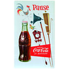Coca-Cola Pause Country Weathervane Wall Decal Vintage Style Decor Coke $19.99  on eBay