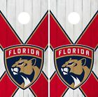 Florida Panthers Cornhole Wrap NHL Vintage Game Board Skin Set Vinyl Decal CO295 $39.95 USD on eBay