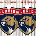 Florida Panthers Cornhole Wrap NHL Game Logo Board Skin Set Vinyl Decal CO298 $39.95 USD on eBay