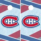 Montreal Canadiens Cornhole Wrap NHL Hockey Game Skin Set Vinyl Decal CO299 $39.95 USD on eBay