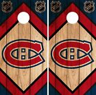 Montreal Canadiens Cornhole Wrap NHL Game Board Skin Set Vinyl Decal CO300 $59.95 USD on eBay