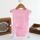 Newborn Toddler Kids Baby Girls Playsuit Romper Jumpsuit Bodysuit Clothes Outfit